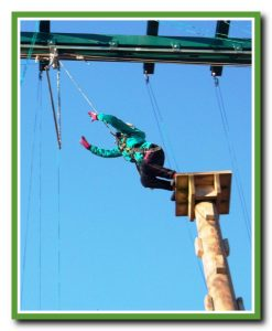 Leap of Faith - High Ropes at Marrick Priory