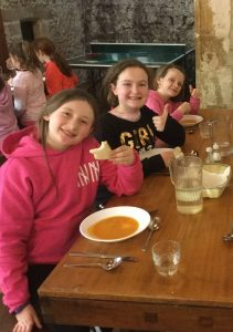 Meals at Marrick Priory