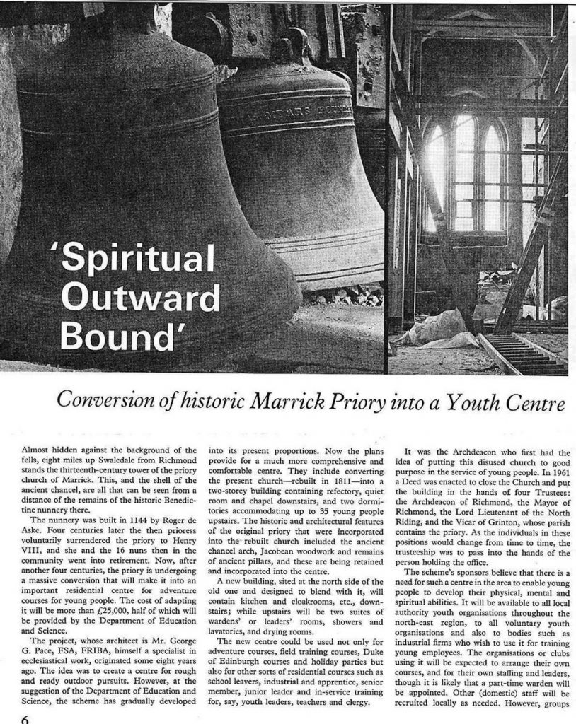 Conversion of Marrick Priory - Page 1