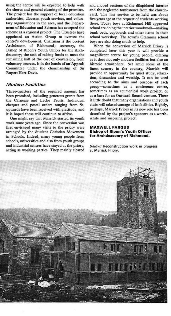 Conversion of Marrick Priory - Page 2