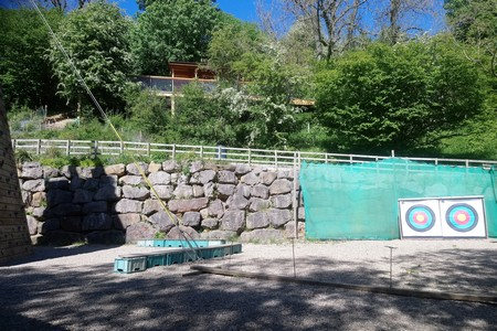 2019 - Archery range with outdoor classroom above