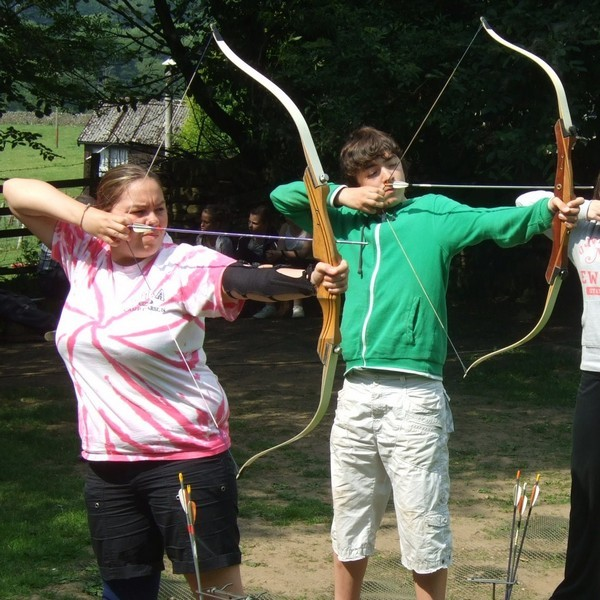 Archery at Marrick Priory Outdoor Adventure Activity Centre - Yorkshire Dales, North Yorkshire