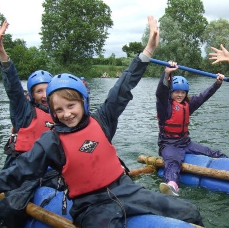 Raft Building and Watersport at Ellerton Lake with Marrick Priory Outdoor Adventure Activity Centre - Yorkshire Dales, North Yorkshire
