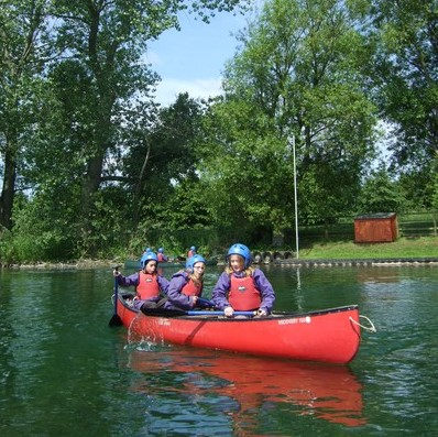 Open Canoeing with Marrick Priory at Ellerton Lake - outdoor adventure activities in the Yorkshire Dales