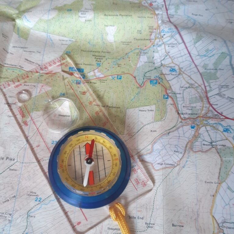 Navigational Skills at Marrick Priory - outdoor adventure activities in the Yorkshire Dales