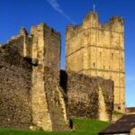 Richmond Castle near Marrick Priory Outdoor Adventure Activity Centre - Yorkshire Dales, North Yorkshire