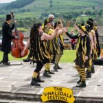 Swaledale Festival in Reeth near Marrick Priory Outdoor Adventure Activity Centre - Yorkshire Dales, North Yorkshire